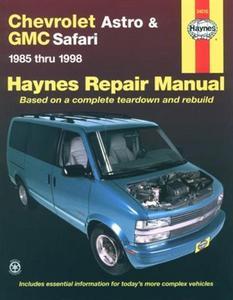 Haynes Chevrolet Astro & GMC Safari Mini-vans (85 - 05) Manual (24010)