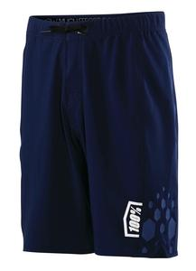 100% Draft Athletic Shorts Navy (Blue, X-Large)