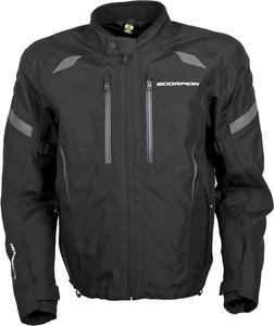 Scorpion Adult Optima Waterproof Dual Sport Motorcycle Jacket Black 2XL