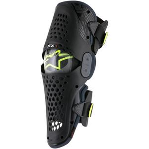 Alpinestars SX-1 Knee Guard Black/Anthracite (Black, Large - X-Large)