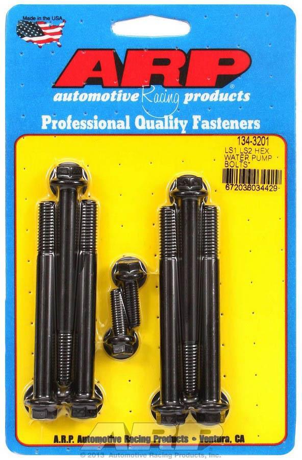 ARP Water Pump Bolt Kit GM LS-Series P/N 134-3201