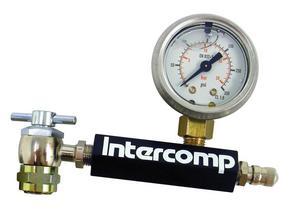 INTERCOMP Analog Shock Inflator and Gauge P/N 100675-A