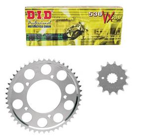 D.I.D DID 530 VX Chain JT Sprocket Kit for Honda CB 400T Hawk 1981 16t/36t