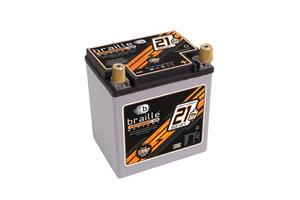 Braille AGM 12 V 550 Cranking Amps No-Weight Battery P/N B3121