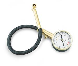 Accugage RA60X Tire Pressure Gauge with Hose - 0-60 psi in 1/4 lb. Incr.