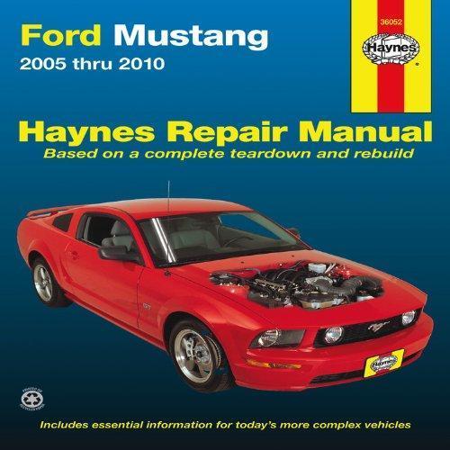 Haynes Ford Mustang Repair Manual for 2005 thru 2010 (36052)