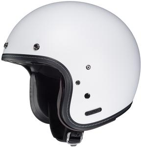 HJC IS-5 Solid Helmet Semi Flat White (White, Small)