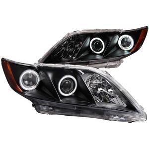 Anzo USA 121181 Projector Headlight Set w/Halo Fits 07-09 Camry