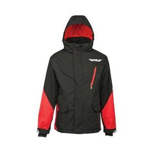 Fly Racing Factory Jacket Red/Black (Black, X-Large)