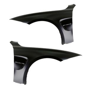 12-15 BMW F30 3-Series M3 F80 Style Front Fenders w/ Gloss Black Side Vent Trim