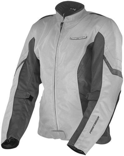 Firstgear Contour Womens Jacket Silver (Gray, X-Small)