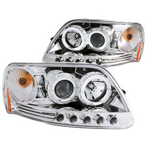 Anzo USA 111032 Projector Headlight Set w/Halo
