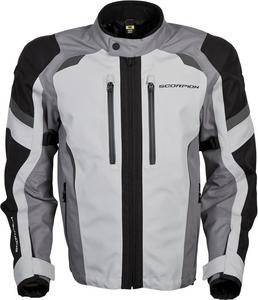 Scorpion Adult Optima Waterproof Dual Sport Motorcycle Jacket Grey M
