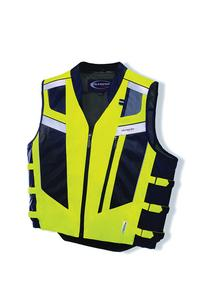 Olympia Adult Blaze Mil Spec Motorcycle Vest Neon Yellow 3XL/4XL