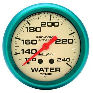 AutoMeter 4532 Ultra-Nite Water Temperature Gauge