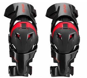 EVS Adult MX ATV Carbon Web Pro Knee Braces L