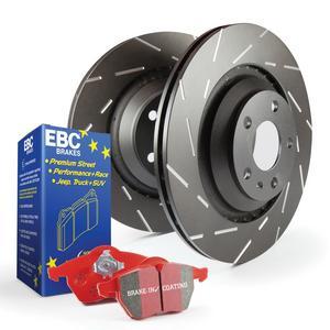 EBC Brakes S4KF1190 S4 Kits Redstuff and USR Rotor Fits 99-14 Accord CL TL TSX