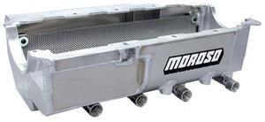 Moroso Drag Race Engine Oil Pan 8-1/2 in Deep Donovan/DRC2/Merlin P/N 21592