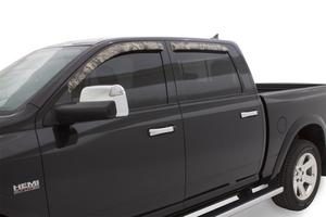 Stampede 6347-15 Tape-Onz Sidewind Deflector 4 pc. Fits 07-19 Tundra