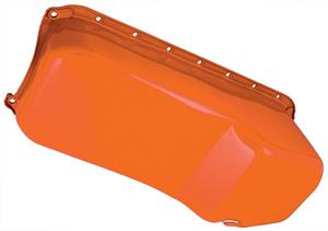 "Trans-Dapt Performance 1955-78 SB Chevy 283-400 Powder Coated ""OEM STYLE"" Oil Pa"