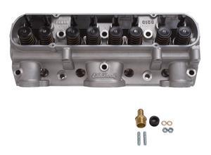 Edelbrock 61599 Performer Pontiac D-Port Cylinder Head Chamber Size 72cc