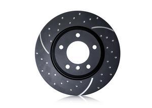 EBC Brakes GD7105 EBC 3GD Series Sport Slotted Rotors