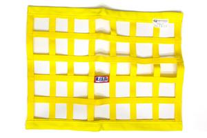 RJS SAFETY 18 x 24 in Rectangle Yellow Window Net P/N 10000406