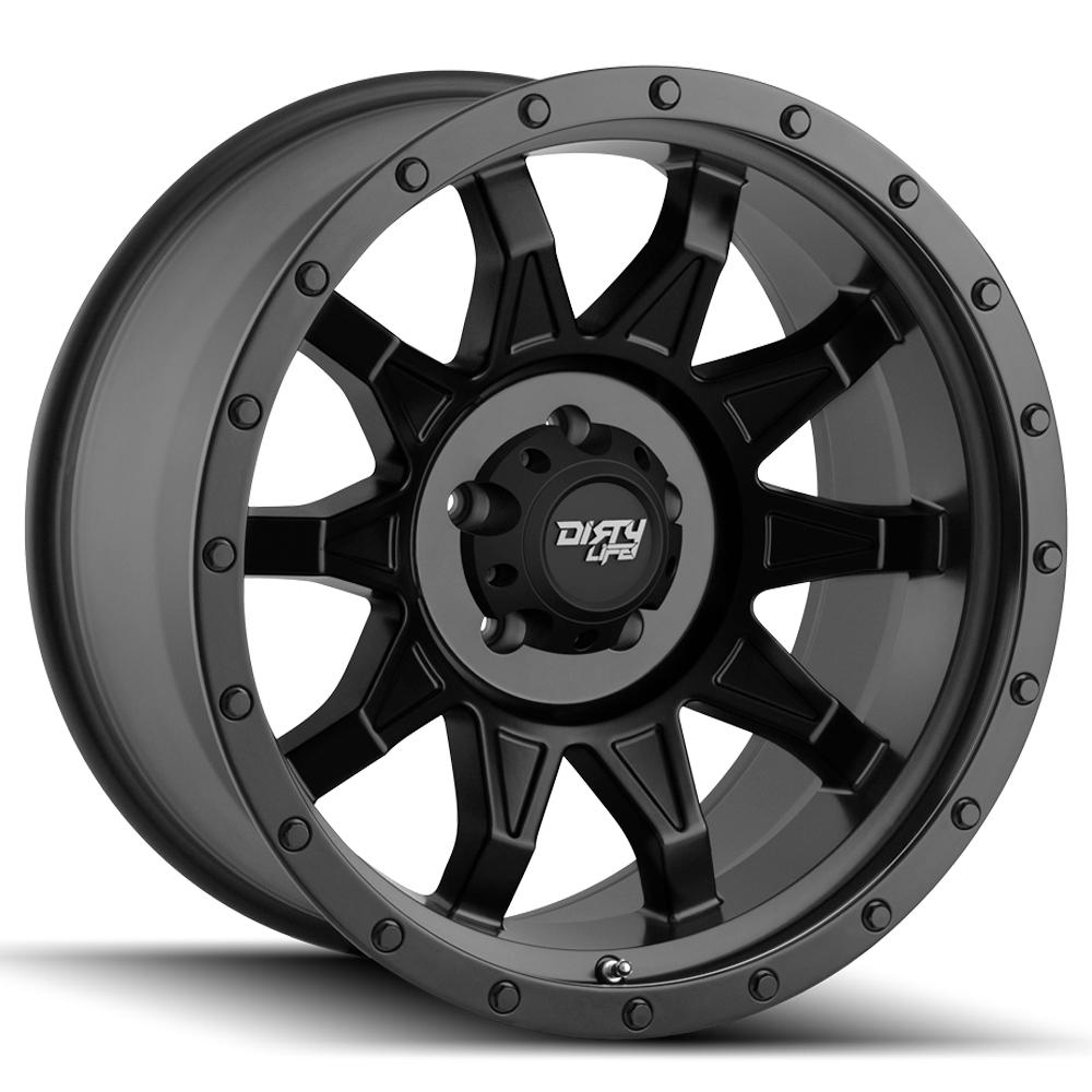"4-Cali Off-Road 9301 Roadkill 18x9 6x135 -12mm Matte Black Wheels Rims 18"" Inch"