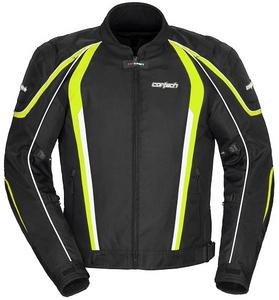Cortech Adult GX Sport 4.0 Textile Cold Weather Jacket Black/Hi-Viz L