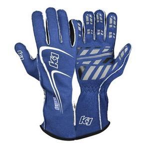 K1 RACEGEAR 23-TR1-B-XL Glove Track1 Blue X-Larg SFI 5