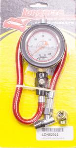 LONGACRE 2-1/2 in Diameter Analog 0-30 psi Deluxe Tire Pressure Gauge P/N 52022