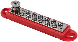 QUICKCAR RACING PRODUCTS 57-801 Terminal Buss Red 12 Location