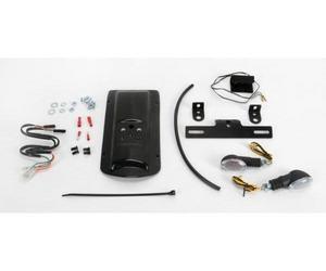 Targa 22-156-L Tail Kit - Black/Clear