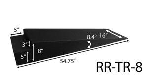RACE RAMPS 54.75 in Long 8 in Lift Height Trailer Ramp 2 pc P/N RR-TR-8
