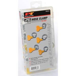Performance Tools W5231 26-Piece Key Type Hose Clamps