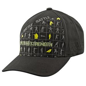 Speed & Strength Full Battle Rattle Ball Cap (Black, Large - X-Large)
