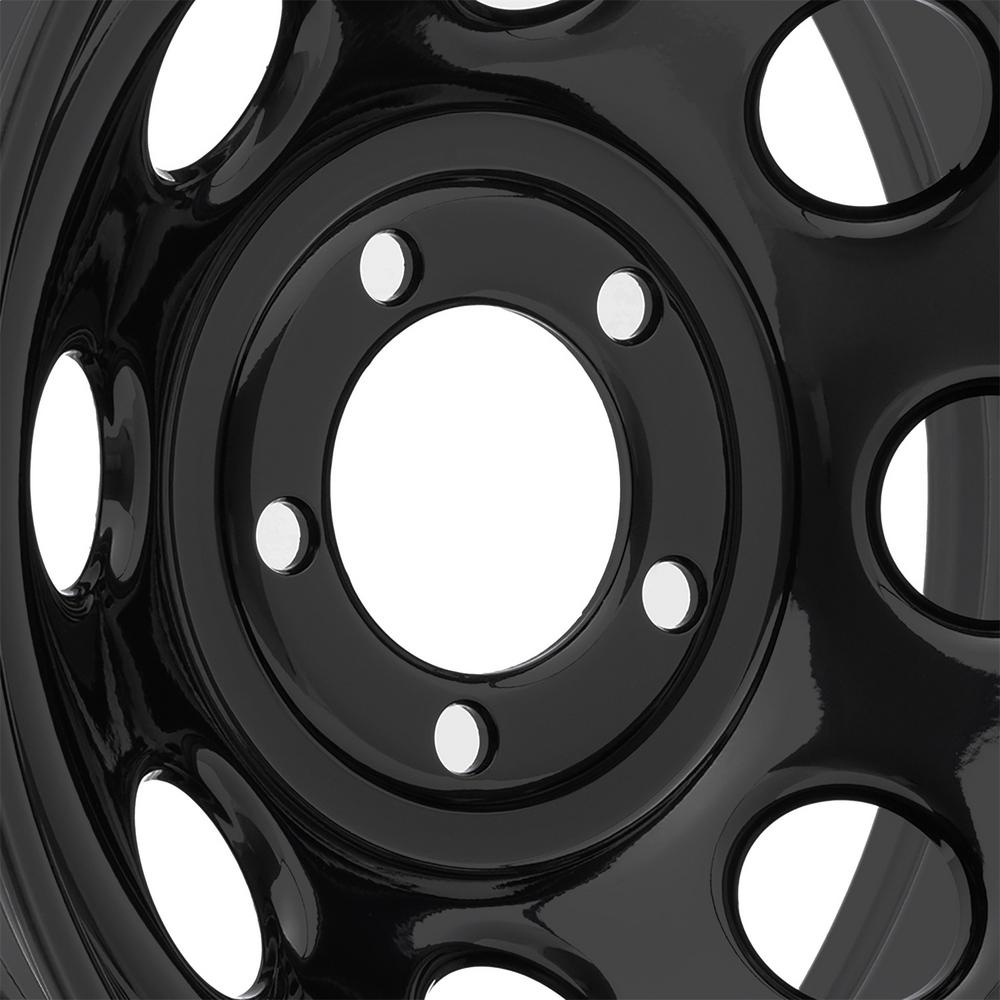 Pro Comp Wheels 97-7973F Rock Crawler Series 97 Black Monster Mod Wheel