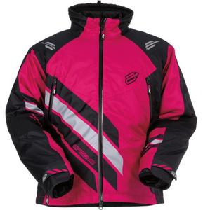 Arctiva Eclipse Insulated Womens Jacket Black/Pink (Black, X-Small)