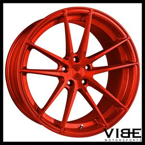 "20"" STANCE SC1 RED CONCAVE WHEELS RIMS FITS LEXUS GS300 GS400 GS430"