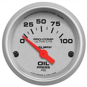 AutoMeter 4327 Ultra-Lite Electric Oil Pressure Gauge