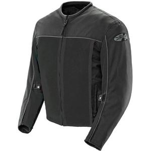 Joe Rocket Velocity Mesh Motorcycle Jacket Black Mens Size 2XL