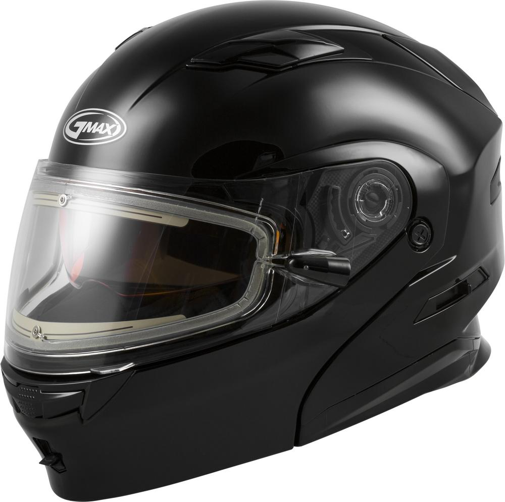 G-Max MD-01S Electric Shield Helmet (Black, X-Small)