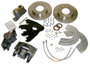SSBC Performance Brakes A135-3 Non-Power Drum To Disc Brake Conversion Kit