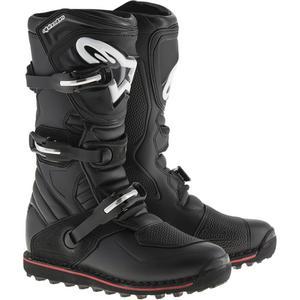 Alpinestars Tech-T Boots Black/Red (Black, 7)