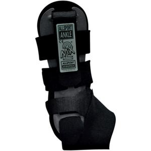 Allsport Dynamics 147 MX-2 Right Ankle Brace (Black, OSFM)