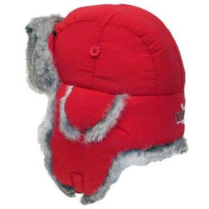 Yukon Tracks Taslan Alaskan Style Hat (Red, X-Large)