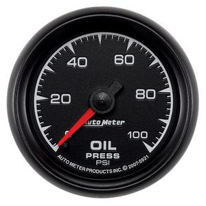 "AutoMeter 5921 ES Mechanical Oil Pressure Gauge 2 1/16"" 0-100 psi Full Sweep"