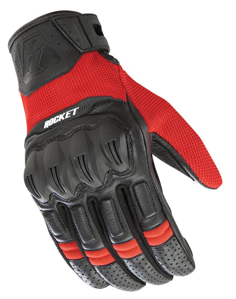 Joe Rocket Phoenix 5.1 Hybrid Gloves Red/Black (Red, XX-Large)