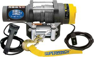 Superwinch Terra25 SXS 2500 LB ATV UTV Winch Steel Cable 1125220