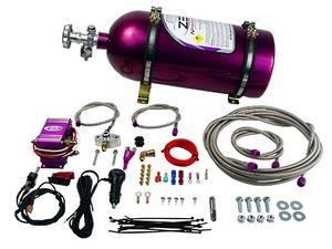 Zex 82034 EFI Wet; Nitrous System Kit Fits 05-10 Mustang